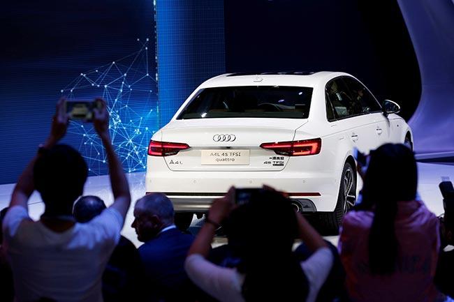 Audi-CHINA-AUTOS-GREEN